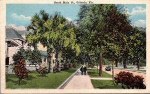 Florida Orlando South Main Street 1921
