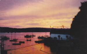 Sunset on the North West Arm , HALIFAX , Nova Scotia, Canada , PU-1966