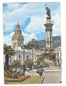 Independance Square, Quito, Ecuador, 50-70s