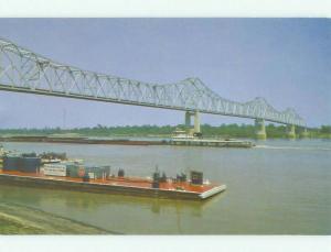 Unused Pre-1980 BRIDGE SCENE Clarksdale Mississippi MS HQ8610