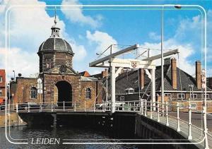Netherlands Leiden, Moorspoort Willem van der Helm, Bridge Gate Cars Autos