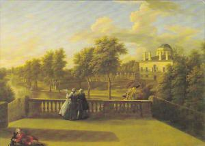 View From Cascade Terrace by George Lambert Chiswick House Greater London