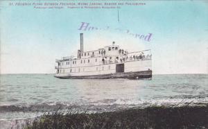Steamship SR FREDERICA , Frederica to Philadelphia route , Pennsylvania , 0...
