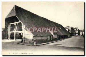 Old Postcard Dives Les Halles