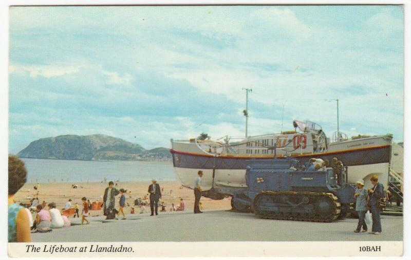 Llandudno, RNLI 'Oakley' Class Lifeboat No 37-09 'Lilly Wainwright' PPC Unposted