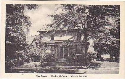 Indiana Marion The Annex Marion College Albertype