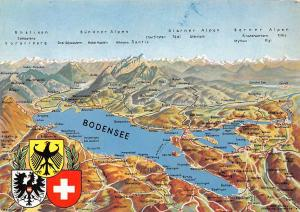 Bodensee Panorama Stadtplan Eriskirch Map Glarner Alpen Zuerich