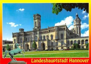 Landeshauptstadt Hannover Welfenschloss Horse Statue Castle Chateau
