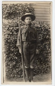 RP: Boy Scout with walking Stick , 00-10s