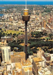 B89950 aerial view of sydney tower  australia