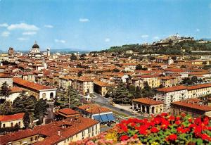 Italy Brescia Panorama and Colle Cidneo General view