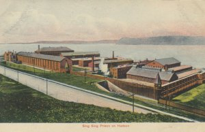 OSSINING , New York, 1900-10s ; Sing Sing Prison on Hudson
