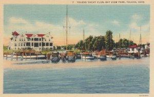 TOLEDO,Ohio, 1930-1940s ; Toledo Yacht Club-Bay View Park