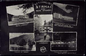 croatia, NOVE GRADISKE, Hotel Strmac TBC Pluca Sumetlica (1950s)