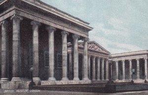 LONDON, England, 1900-1910s; British Museum