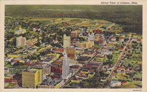 Aerial view of Jackson, Mississippi,  PU-1945