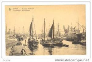 ANVERS, Bassin du Kattendyck, Belgium, 00-10s ships