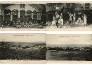 ADVERTISING CHAMPAGNE POMMERY & GRENO REIMS INDUSTRY 38 CPA (L3731)