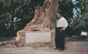 Blair Tomb, JAMESTOWN, Virginia, 40-60's