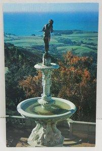 Hearst San Simeon State Historical Monument California Vintage Postcard