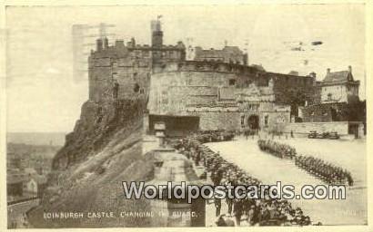 Scotland, Escocia Changing the Guard Edinburgh Castle Changing the Guard Castle