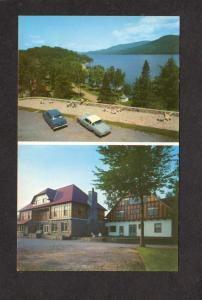 QC Manoir Pinoteau Lake Tremblant Montreal Quebec Postcard Canada Carte Postale