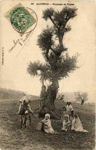 CPA AK Paysage et Types ALGERIA (794197)