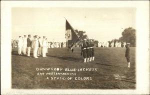 Minneapolis MN Navy - Dunwoody Blue Jackets c1918 Real Photo Postcard