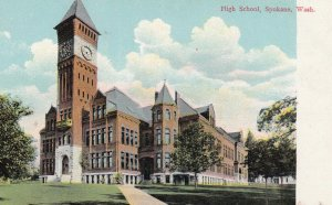 SPOKANE , Washington , 00-10s ; High School