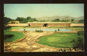 El Paso, Texas/TX Postcard, Del Camino Courts Motel, Franklin Mountains, 1955!