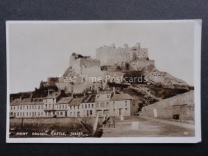 Channel Islands: Mont Orgueil Castle Old Postcard by R.A.Postcards Ltd No.13