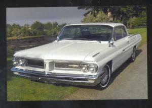 1962 PONTIAC GRAND PRIX CAR DEALER ADVERTISING POSTCARD '62 PONTIAC CARS