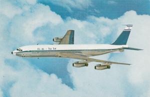EL AL Israel Airlines , Boeing 707 Jet Airplane , 1960s