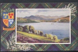 Scotland Postcard - Gordon Tartan - Gareloch, Dumbartonshire   DC2189