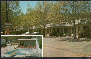 California ~ Sonora Motor Hotel on Hwys 108 and 49 SONORA - Chrome 1950s-1970s