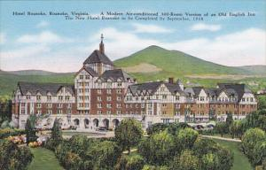 Virginia Roanake Hotel Roanoke