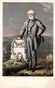 Civil War Post Card General Lee, Grave of Stonewall Jackson Unused
