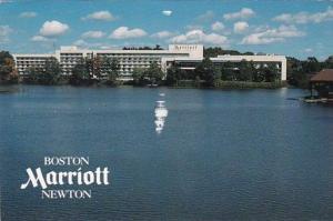 Massachusetts Newton The Boston Marriott Newton 1992
