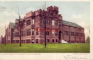 pre-1907 DWIGHT MEMORIAL ART BUILDING, MT. HOLYOKE COLLEGE, MASS. 1906