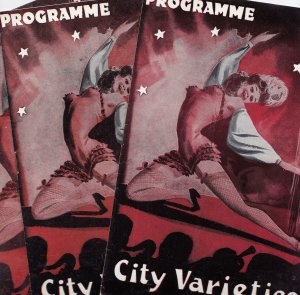 City Varieties Leeds 3x Risque Nudes Old Yorkshire Theatre Programme s