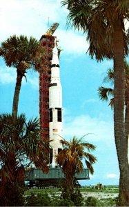 Florida Kennedy Space Center NASA Apollo 11 Saturn V Spave Vehicle Atop Trans...