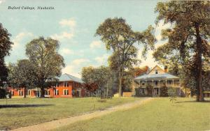 Nashville Tennessee Buford College Historic Buildings Antique Postcard K12310