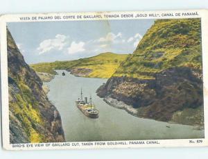 Old Postcard GAILLARD CULEBRA CUT FOR CANAL IN EMPIRE Country Of Panama F5572