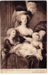 Mari Antoinette etscr Fnfants