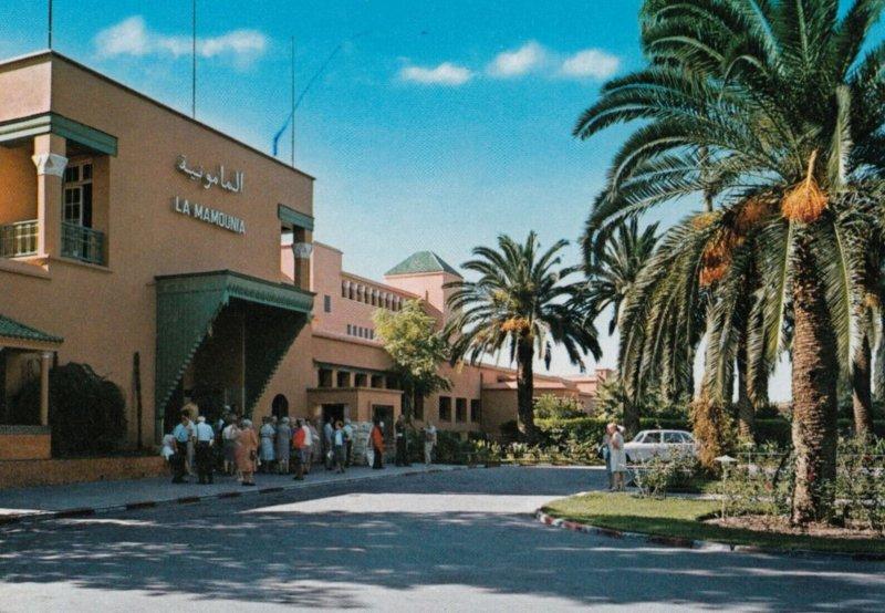 MARRAKECH , Morocco , 1950-70s ; Hotel Mamounia - L'Entree