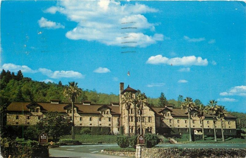 St Helena California~Christian Brothers~Wine Cellar~1950-60s Postcard