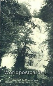 Grand Sight of the Yu Falls Nikko Japan Unused