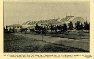 NY - Syracuse. NY State Fairgrounds. Liberal Arts Building
