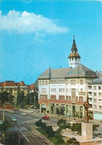 Romania Tg Mures partial view o the city Postcard
