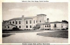 North Carolina Fort Bragg Officer's Club 1943